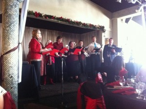 Opera Singing at the Coco Palm (Pomona Chamber of Commerce Luncheon)