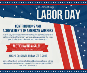 Labor Day Special From Startechtel.com