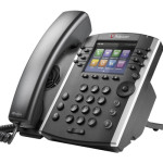 Handling Incoming Calls On The Polycom VVX 400-410 Phone