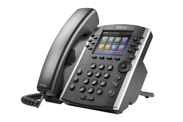 Accessing Voicemail On the Polycom VVX 400-410 Phones