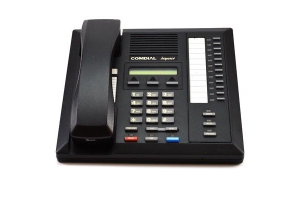 Making Conference Calls On The Comdial Impact 8012S Phone