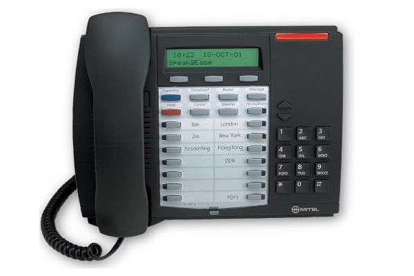 How To Park Calls On the Mitel Superset 4025 Phone