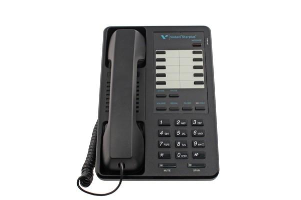 Holding Calls On The Vodavi Starplus 2802 Phone